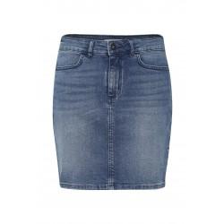 Ichi Twiggy Skirt Medium Blue