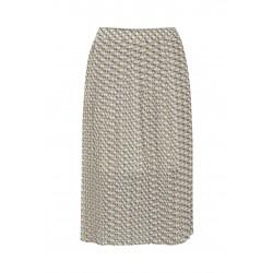 Ichi Zecky Skirt Bright White