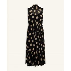 Love & Divine Dress Black/Dot
