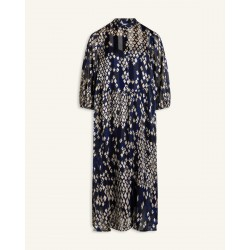 Love & Divine Dress Blue/Black Comb.