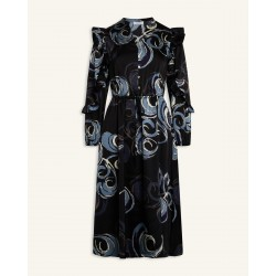 Love & Divine Dress Blue Graphic