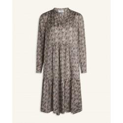 Love & Divine Dress Cream/Paisley