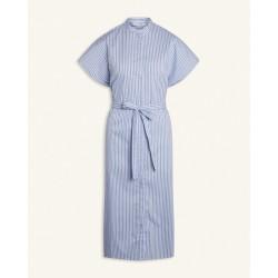 Love & Divine Dress White/Blue