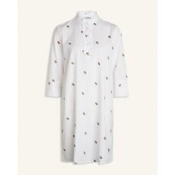 Love & Divine Dress White/Brown