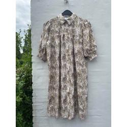 Love & Divine Dress Leaf Print