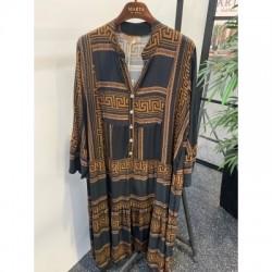 Marta du Cháteau Dress Black/Brown