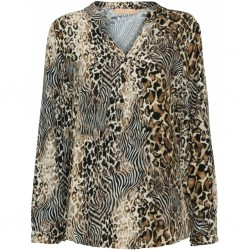 Marta du Chateau Shirt Leopard
