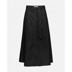 Moss Copenhagen Charlie High Waisted Midi Skirt Black