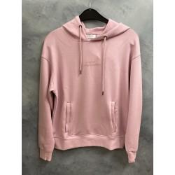 Moss Copenhagen Ima DS Logo Hood Sweatshirt Dawn Pink
