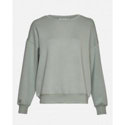 Moss Copenhagen Ima Ds Sweatshirt Agave Green