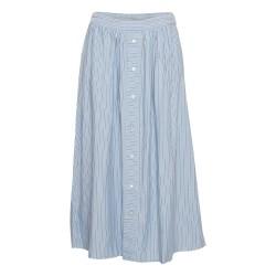 Moss Copenhagen Maktia Beach Skirt Powder Blue Stripes