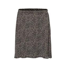 Moss Copenhagen Talla Beach Skirt Black Dot