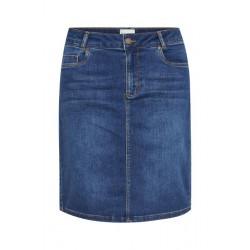 My Essential Wardrobe 12 The Denim Skirt 101 Medium Blue Random Wash