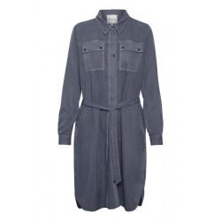 My Essential Wardrobe Cosmo Shirtdress Vintage Indigo