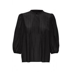 My Essential Wardrobe Rachel Blouse Black
