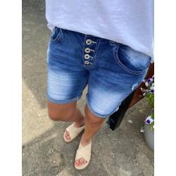 Place Du Jour Ladies Shorts Denim